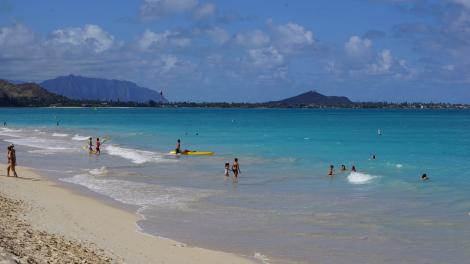 Oahu, Hawaii Beach